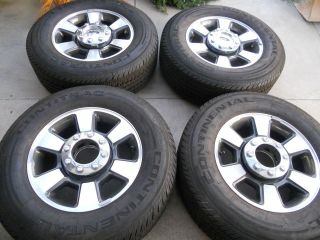 18 FACTORY OEM FORD F250 F350 WHEELS AND TIRES 17 20