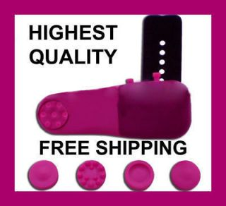 Pink Personal Finger Massager Head Neck Back Foot Leg Muscle Fast New