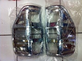 FORD RANGER 2012 CHROME TAIL LIGHT COVER