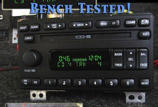 FORD LINCOLN 6 CD DISC CHANGER RADIO STEREO MUSTANG EXPEDITION