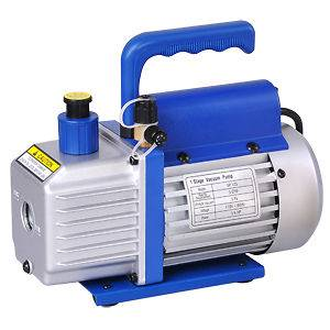 Vane Deep Vacuum Pump 1/4HP HVAC AC Air Tool Freon R410a R134 etc