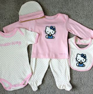 hello kitty newborn baby clothes in Baby & Toddler Clothing