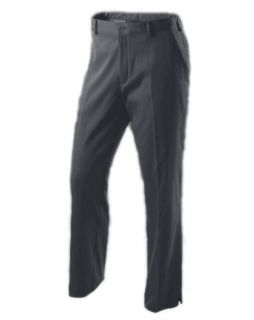 FIT Flat Front Tech Mens Golf Pants Dark Grey Split Hem Multi Sizes