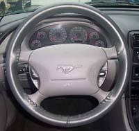 Ford Leather Steering Wheel Cover Wheelskins   Custom Fit   You Pick