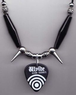 Black Label Society Guitar Pick Necklace Zakk Wylde BLS