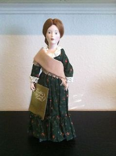 Franklin Mint Heirloom Collector Porcelain Doll