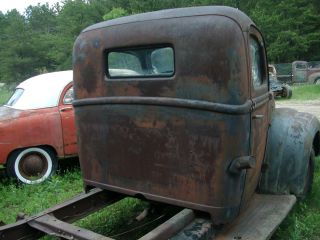 1942 1946 FORD PICKUP TRUCK CAB WITH DASH AND DOORS