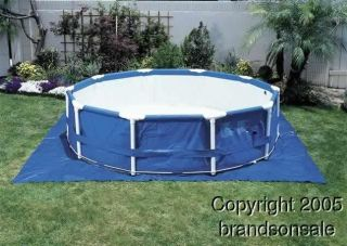 16 Ft Above Ground Swimming Pool Tarp Cloth