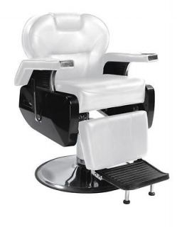 Heavy Duty Hydraulic Recline Barber Chair Salon Beauty Shampoo 8W
