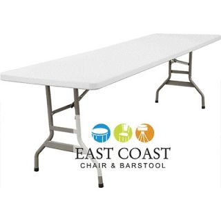 CLEARANCE New 6 Foot Commercial Lightweight Plastic Folding Table