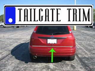 Chrome Tailgate Trunk Molding Trim   Ford (Fits Crown Victoria)