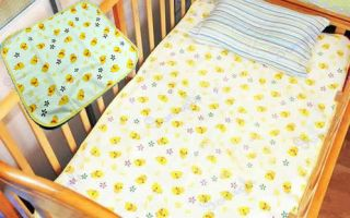 Baby Infant Home Travel Cotton Urine Mat Burp Changing Pad Cover
