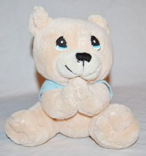 Precious Moments Prayer Bear Plush Teddy Bear Recites Prayer