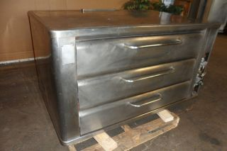 HEAVY DUTY COMMERCIAL GRADE DOUBLE STACK BLODGETT COUNTER TOP N GAS