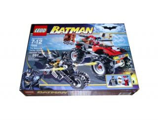 Newly listed Lego Batman The Batcycle Harley Quinns Hammer Truck