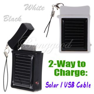Emergency Solar Power External Battery Charger for iPhone 4 4S 3GS 3G