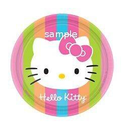 Hello Kitty edible cake image topper 12 cupc​ake
