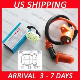 pins Racing performance CDI + Ignition Coil for Gy6 50cc/150cc