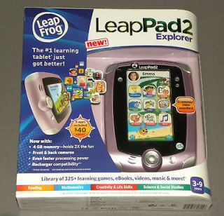 Leap Frog Leap Pad LeapPad 2 Explorer Pink Girls Tablet 4 GB 2 Cameras