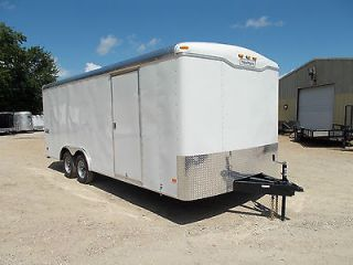 NEW 8.5x20 8.5 x 20 Enclosed ATV Cargo Trailer Auto Carrier HAULMARK