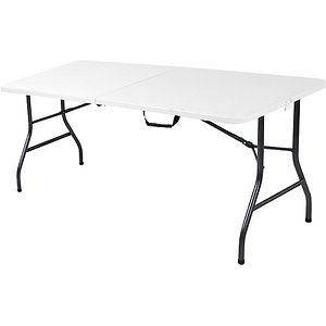 Ft Long Center Fold Table Banquets Camping Receptions Parties