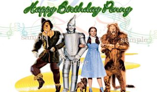 SHEET WIZARD OF OZ Edible CAKE Image Icing Topper
