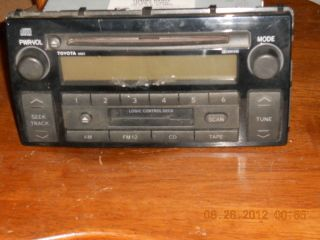 2002 2004 Toyota Camry Factory Cd Cassette Car Stereo Radio 86120