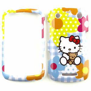 Hello Kitty Blue Phone Faceplate Cover Case For Blackberry Curve 9350