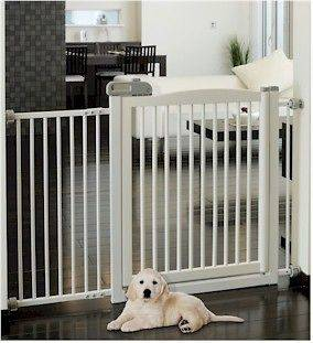 Extra Wide Tension Mount Dog Pet Gate Item Id 94134