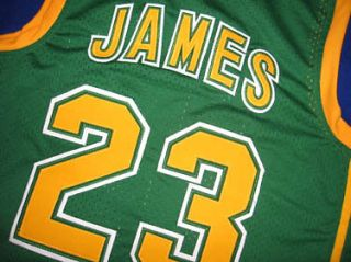 lebron high school jersey in Sports Mem, Cards & Fan Shop