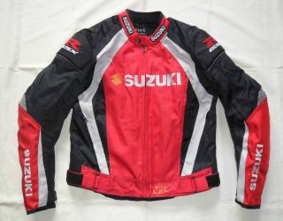 Motorcycle jacket/Joe Rocket Suzuki GSXR Jacket w/matching GSXR Racing