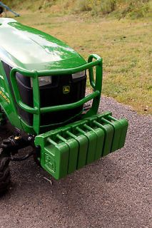 JOHN DEERE 1023E & 1026R COMPACT TRACTORS FRONT SUITCASE WEIGHT