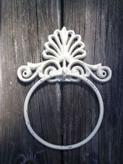 Victorian Towel Ring Holder Shabby Chic W