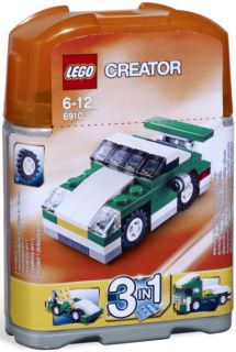 LEGO CREATOR 6910 Mini Sports Car Vehicle 3 In 1 NEW Factory Sealed