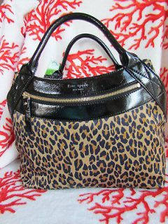 kate spade leopard in Womens Handbags & Bags