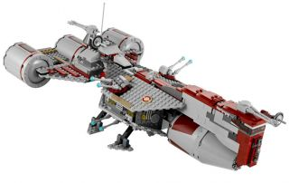 NEW LEGO STAR WARS 7964 REPUBLIC FRIGATE SHIP no minifigs   VEHICLE
