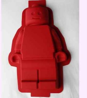 NEW LEGO SILICONE MINIFIGURE BIRTHDAY CAKE PAN MOLD