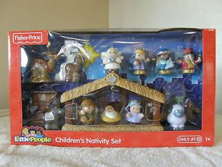 Fisher Price LITTLE PEOPLE NATIVITY SET ~ 14 PIECES FROM TARGET