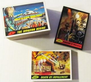 Collectibles  Trading Cards  Sci Fi, Fantasy  Mars Attacks