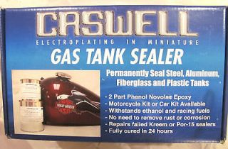 TRIUMPH, FIAT, MG, MGA QUART SIZE CASWELL FUEL AND OIL TANK SEALER