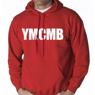 YMCMB HOODIE YOUNG MONEY WEEZY WAYNE SWEAT SHIRT LIL HIP HOP RAP *PINK