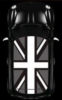 BMW MINI COOPER Car Roof Union Jack Flag Graphic Vinyl Sticker Decal