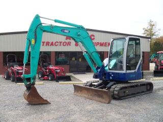 2008 IHI 80NX EXCAVATOR   LOADER  BACKHOE   ENCLOSED CAB  BLADE