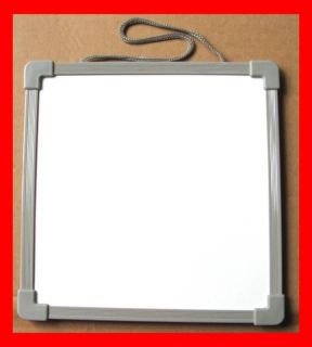 Mini Message White Board Magnetic fridge Hang 2 color