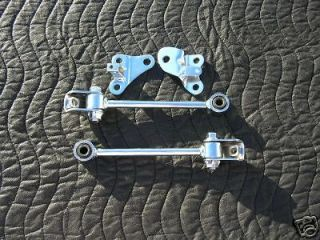 Chrome Yamaha Banshee Motor/Engine Mounts Show/Drag