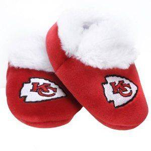 Kansas City Chiefs NFL Football Baby Bootie Slippers Shoes Apparel