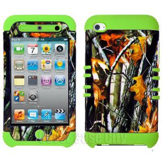 Mossy Branch Camo Hybrid Hard Cover Case Apple iPod Touch 4 4th Gen