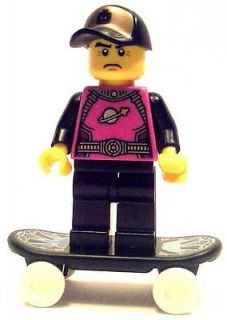 Newly listed LEGO minifig minifigure cool future street skater boy