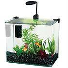 Penn Plax Radius 3.4 Gallon Glass Aquarium Kit with LED Light and