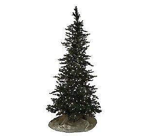 Bethlehem Lights Prelit 7.5 Rocky Mountain Pine Tree CHRISTMAS CLEAR
